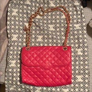 Rebecca Minkoff Pink Chain Shoulder Bag